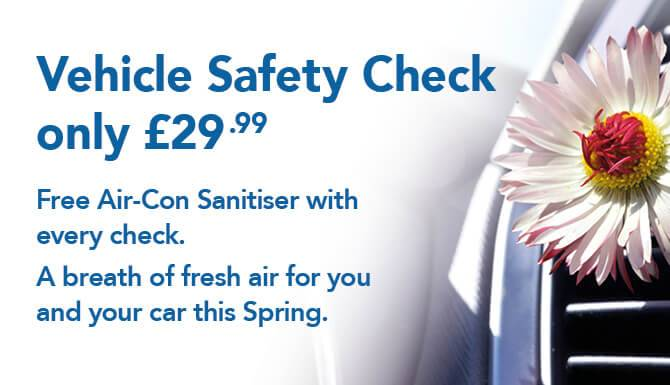 Spring Safety Check