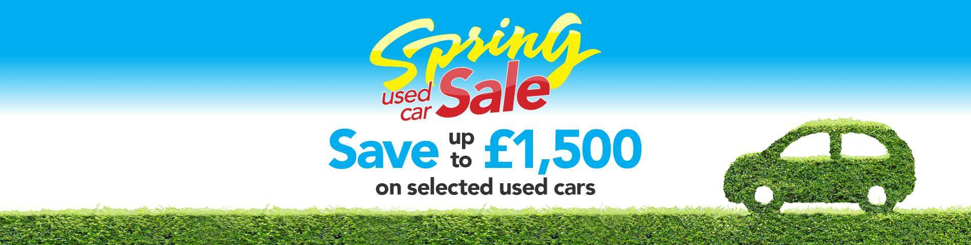 Used Car Spring Sale
