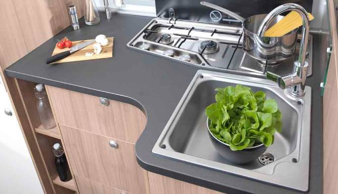 Sun Living A Series Motorhome Interior Kitchen Worktop 1