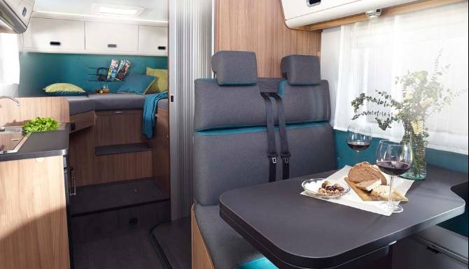 Sun Living S Series Motorhome Interior