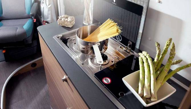 Sun Living S Series Motorhome Kitchen