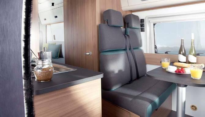 Sun Living V Series Motorhome Interior