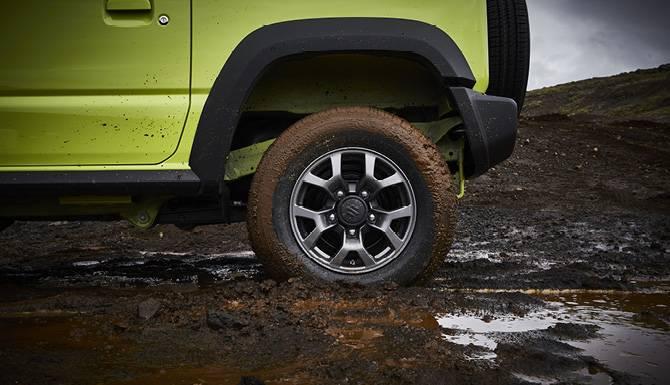 Suzuki Jimny Wheels