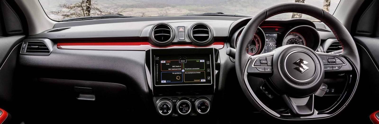 Suzuki Sport Swift Interior Dashboard