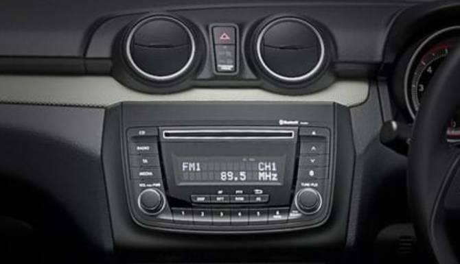 Suzuki Swift center console