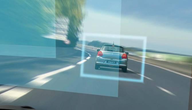 suzuki swift Dual Sensor Brake Support