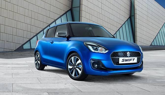 Suzuki Swift Front Side View