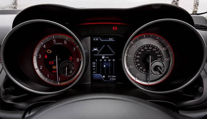 Suzuki Swift Sport Speedometers