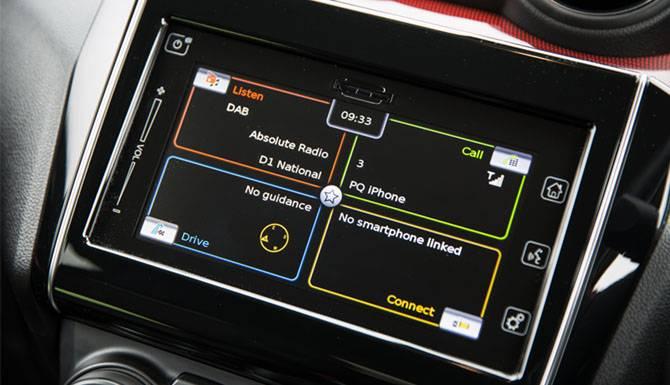 Suzuki Swift Sport Touchscreen