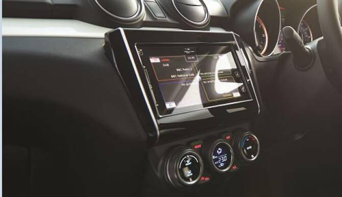 Suzuki Swift Touchscreen Dashboard
