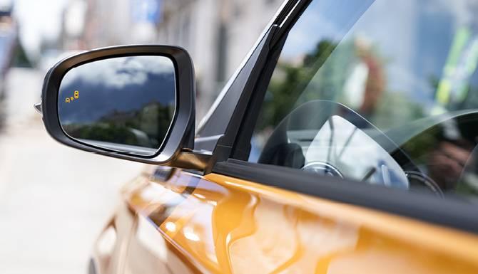 Suzuki Vitara Side Mirror View