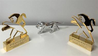 Peugeot Yeovil & Dorchester win the prestigious Gold Lion Event for 2019