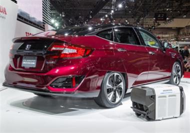 Honda Unveils Hydrogen-Powered Clarity
