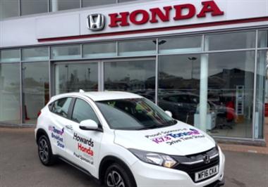 Howards Honda: Sponsors Local Breakfast Show on Tauntons 107.8 Tone FM