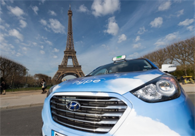 Hyundai Supplies The Largest Fuel Cell Taxi Fleet In The World