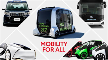 Toyota Brings Latest Technology To Support Mobility At The Olympic And Paralympic Games 2020