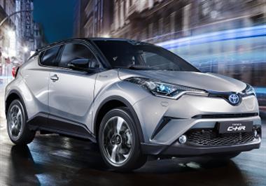 New Toyota C-HR Shine Bright Like A Diamond