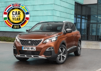 The all-new Peugeot 3008 SUV - European Car of the Year 2017