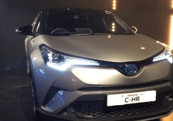 C-HR Event Held At Silverstone