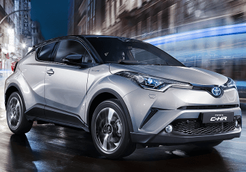 New Toyota C-HR Shine Bright Like A Diamond