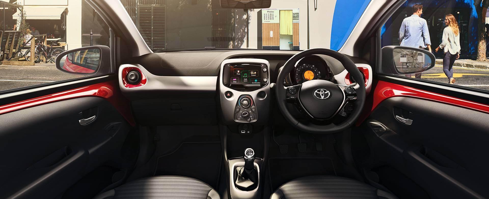 Toyota Aygo Interior Special Offer