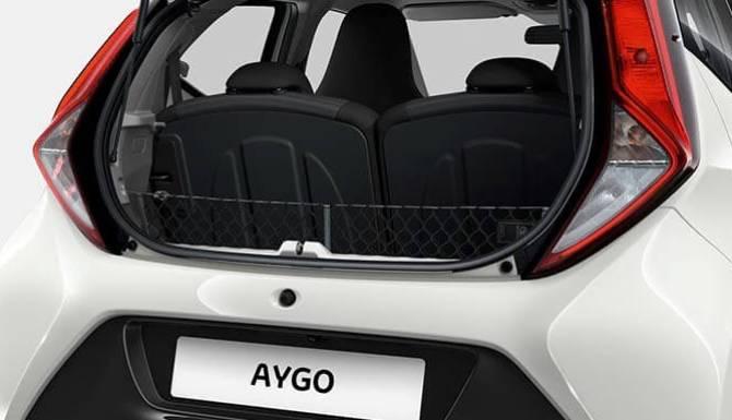 Toyota Aygo Trunk