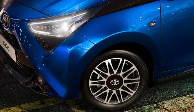 Toyota AYGO Wheels Special Offers