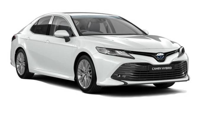 toyota camry hybrid excel model
