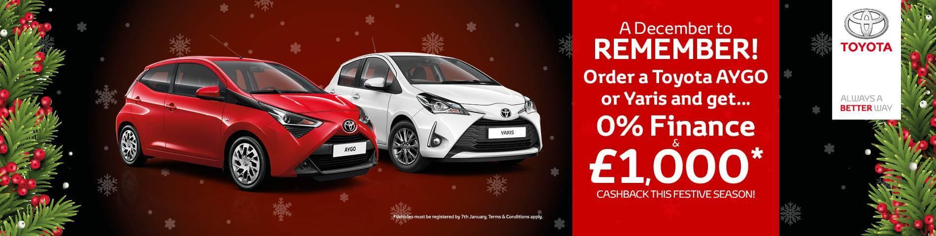 Toyota Christmas Cashback