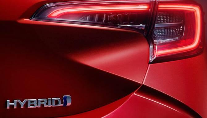 Toyota Corolla Light Red