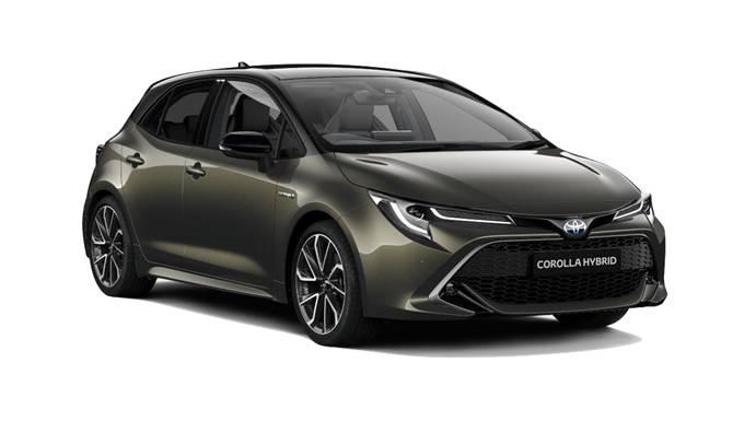 Toyota Corolla Olive Colour