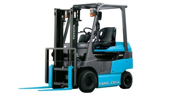 Toyota Fuel Cell Forklift
