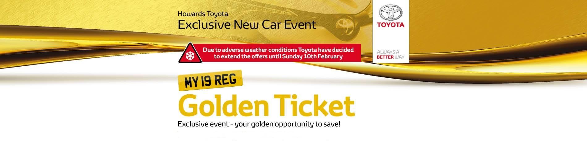Citroen Golden Ticket