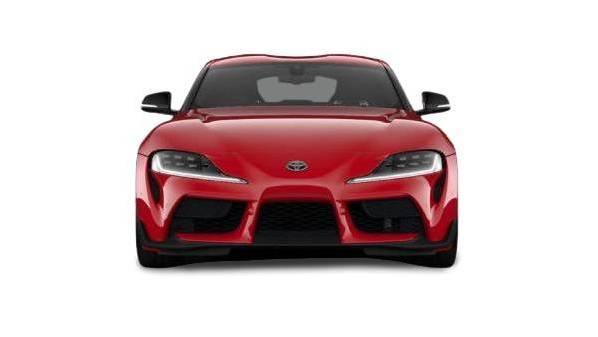 toyota gr supra pro - front end view
