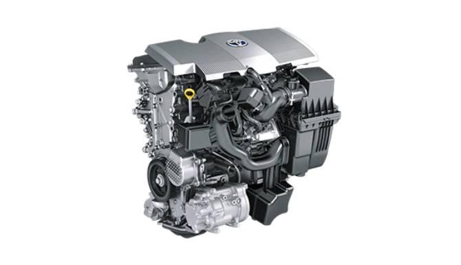 Toyota Prius Engine Image