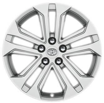 Toyota RAV4 18 Glossy Silver Alloys