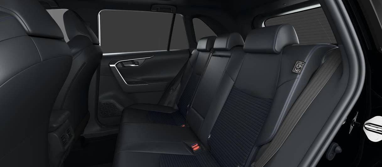 Toyota RAV4 Back Seats Interior