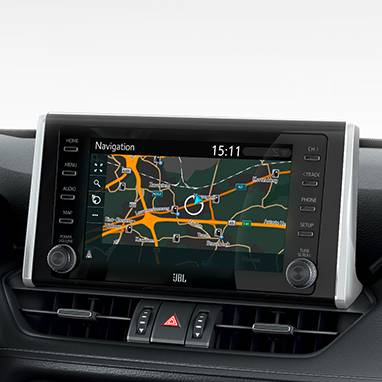 Toyota RAV4 Touchscreen