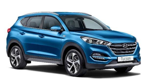 Tucson Sport Edition 5 door Ara Blue