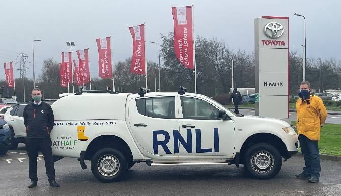 Howards Motor Group have been working with the Weston RNLI to maintain one of their trucks!