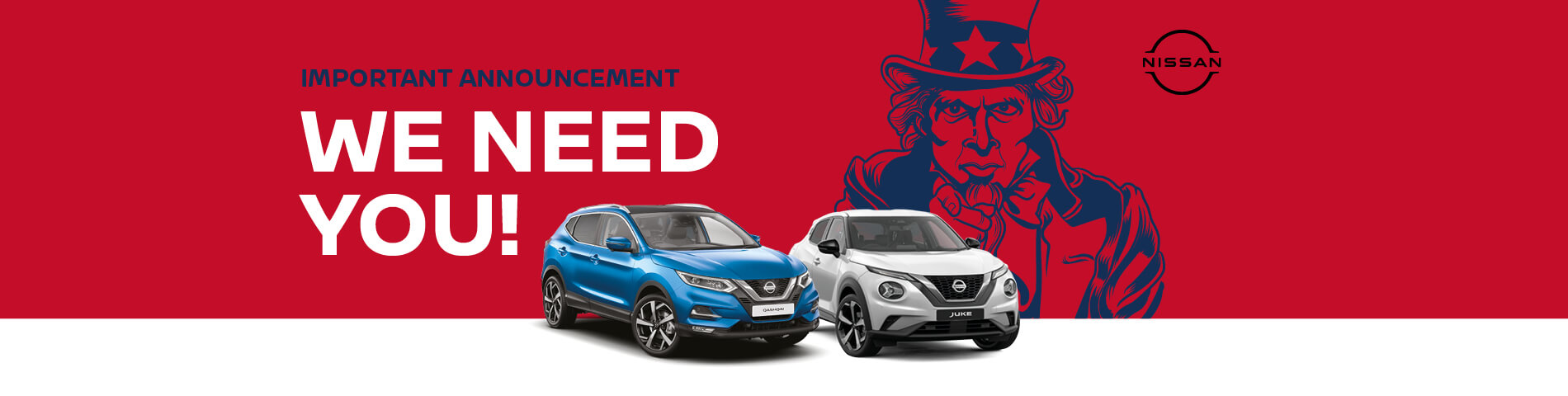 WE want Nissan Event