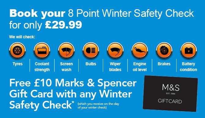 Winter Safety Check Offer